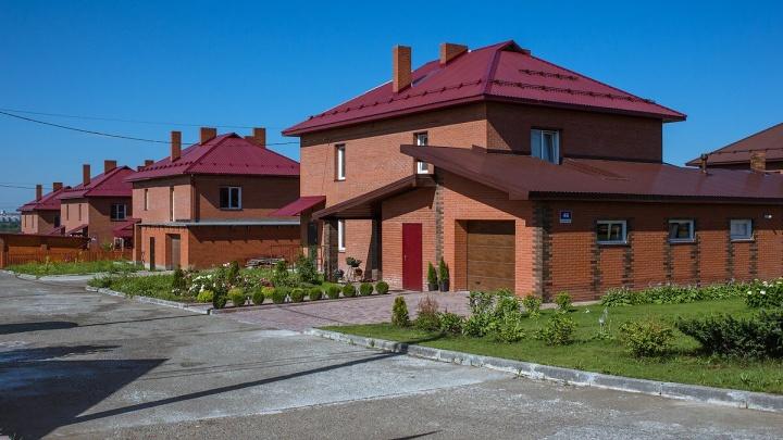 Виды из коттеджного посёлка в Октябрьском районе признаны одними из самых красивых в Новосибирске
