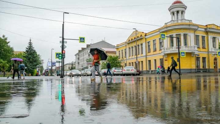 Экстренное предупреждение: в воскресенье Красноярск ждут ливни с градом