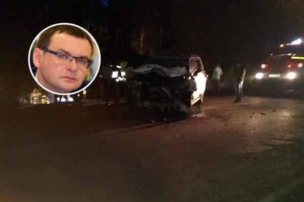 Единственным, кому удалось выжить в ночной аварии под Тюменью, оказался председатель городской думы&nbsp;<br>