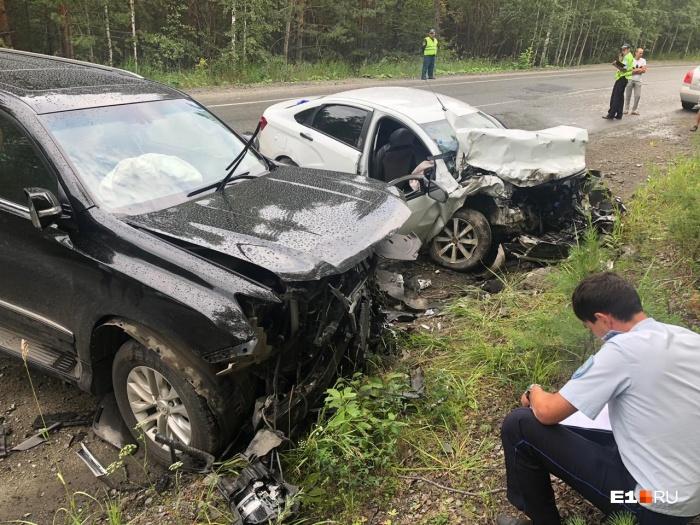 Авария произошла в Аргаяшском районе — недалеко от Аргазинского водохранилища
