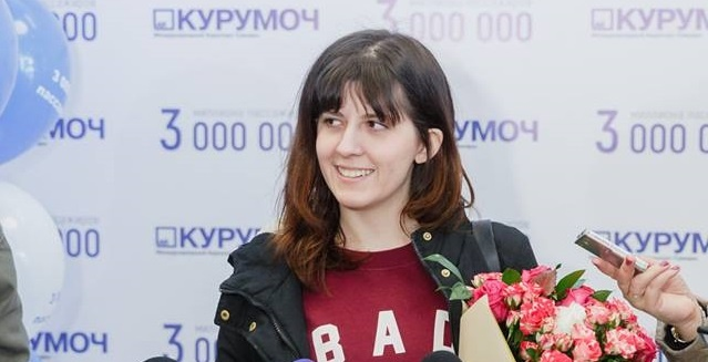 Три миллиона за год: аэропорт Курумоч обслужил юбилейного пассажира