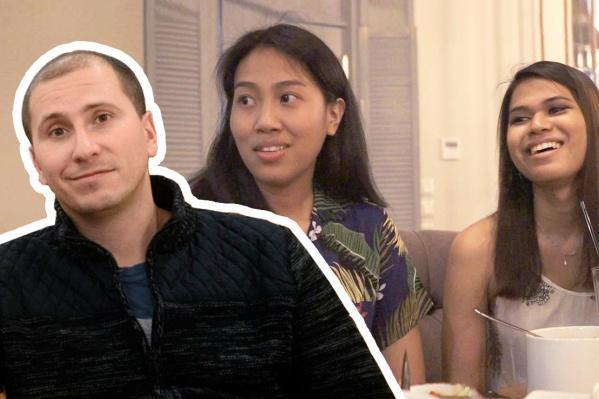 Пим и Джейн — студентки из Таиланда, которые помогли нам понять паназиатскую кухню