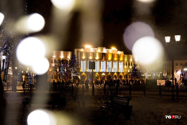 Через два месяца Ярославль будет сиять новогодними огнями