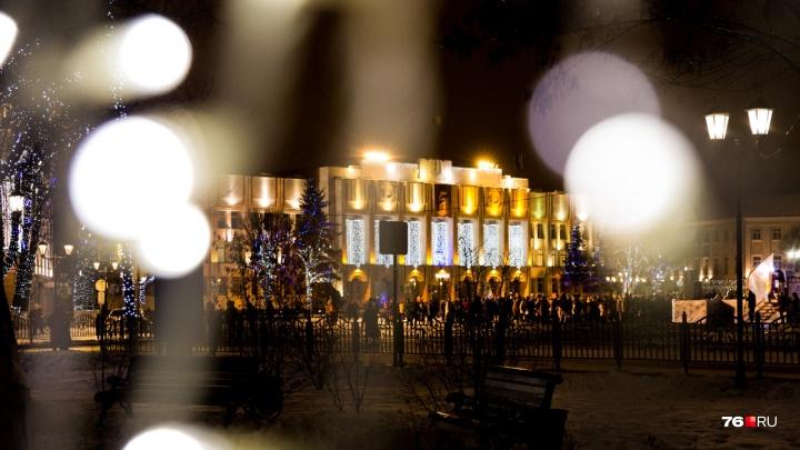 В Ярославле чиновники начали готовиться к Новому году в сентябре