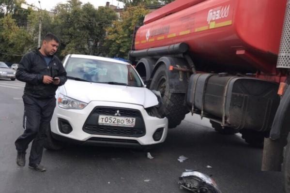 Автомобилисты удивляются, как такое могло случиться