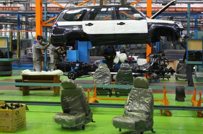 В 2007 году в Свердловской области впервые начали собирать легковые автомобили