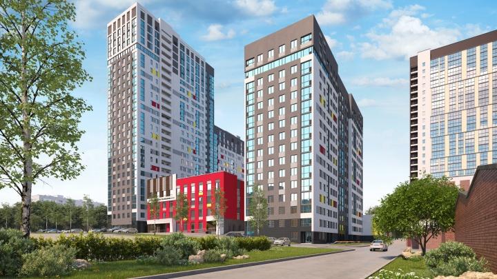 «Университетский» расширяет границы: в новом квартале на Комсомольской стартовали продажи квартир