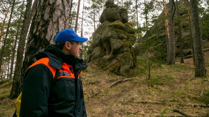 Несколько туристов пропали на «Столбах» у одной и той же скалы. Поиски идут уже сутки