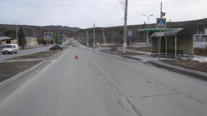 В Челябинской области ребенка сбили по дороге в школу