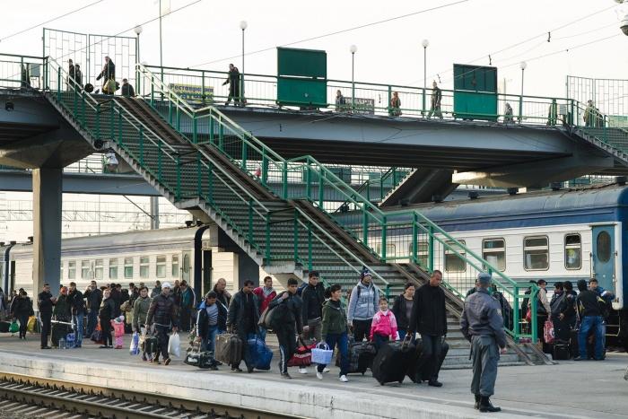 Услуги носильщика будут стоить пассажирам от 150 до 250 рублей