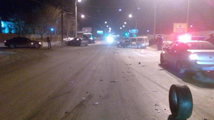 В Челябинской области водитель-бесправник устроил тройное ДТП
