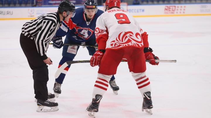 Ростовские хоккеисты лишь в овертайме сломили сопротивление «Красноярских рысей»