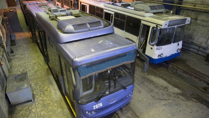 Номера 10 и 15 — отдыхают: в Уфе на Кольцевой перекроют движение троллейбусов