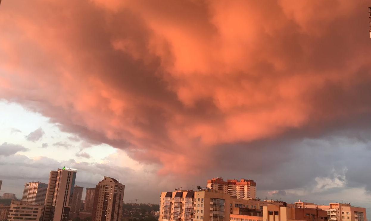 Этим летом в Новосибирске были невероятно красивые закаты