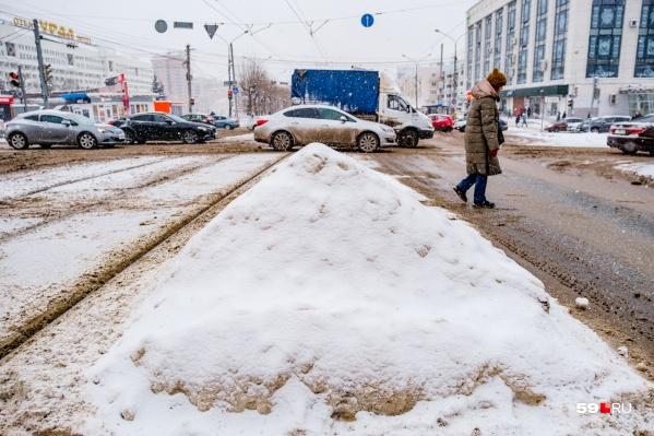 К повышенной осторожности призывают и пешеходов