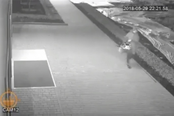 Укравшая рассажу женщина попала на камеры