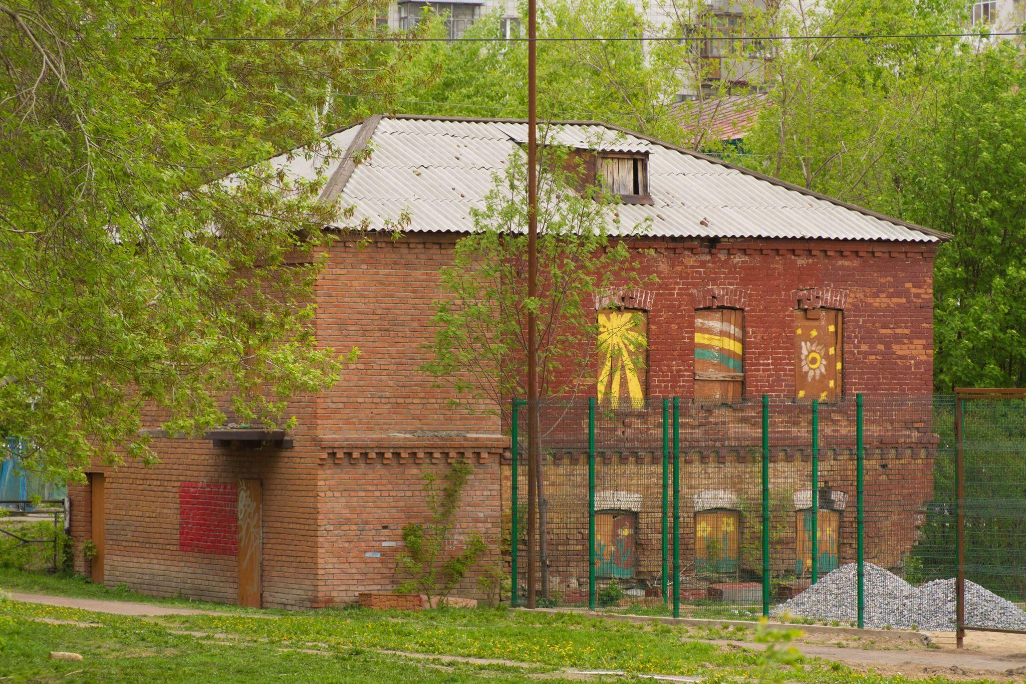 По словам краеведа Константина Голодяева, здание построили после пожара в 1909 году