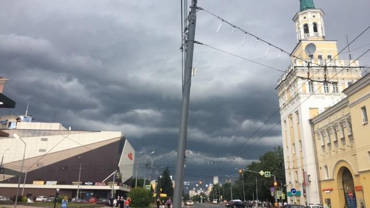 Возможен торнадо: синоптики предупредили ярославцев о погоде в ближайшие два часа