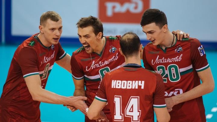 Вышли в плей-офф: ВК«Локомотив» проиграл «Факелу» из Нового Уренгоя