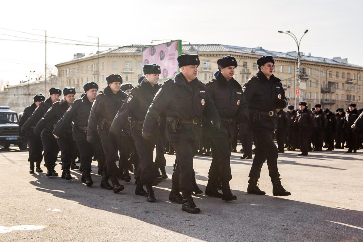 Полицейские должны будут обеспечить общественную безопасность на выборах 18 марта