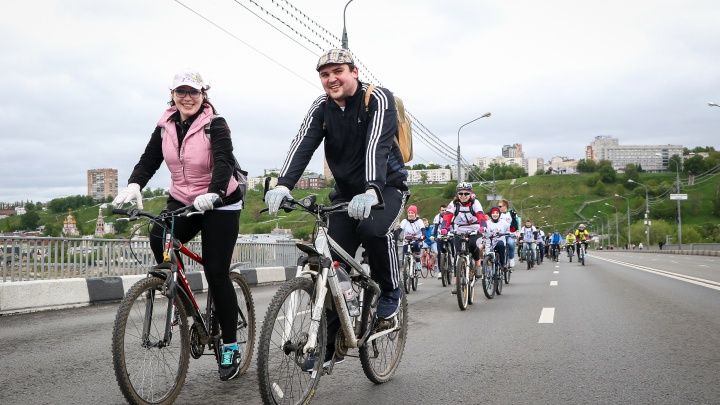 От Чкаловской лестницы до стадиона: велопарад пройдет в Нижнем Новгороде в воскресенье