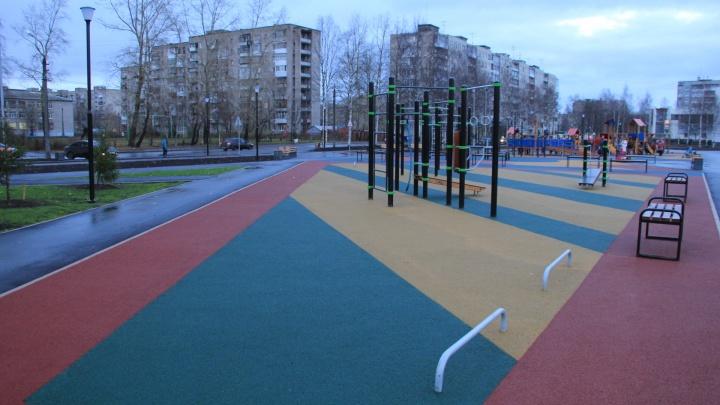 Мыть урны, чистить детскую площадку: власти Архангельска ищут подрядчика для уборки «Зарусья»
