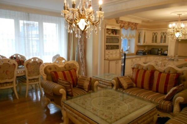 Так выглядит самая дорогая меблированная квартира, которую сейчас продают в Красноярске