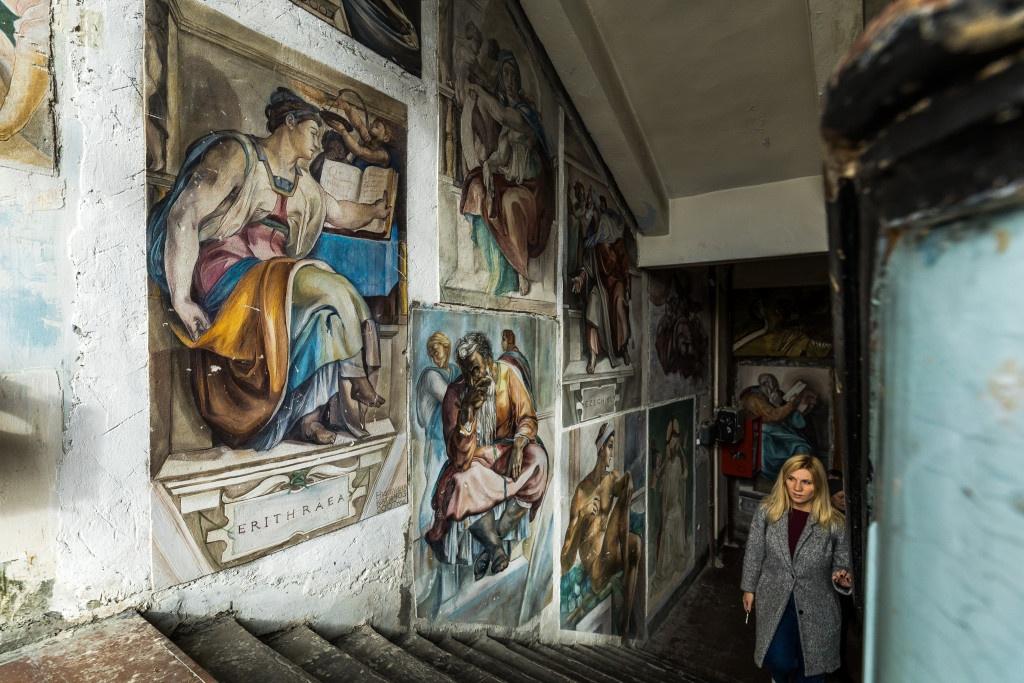 Секретные лестницы Новосибирского государственного института архитектуры, дизайна и искусств