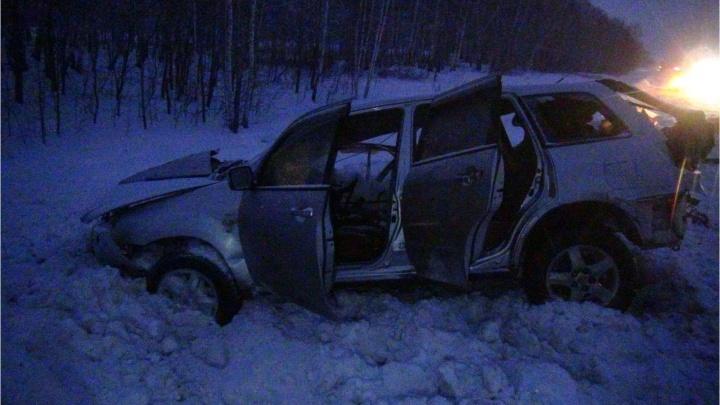 Жительница Челябинской области погибла в ДТП в Щучанском районе