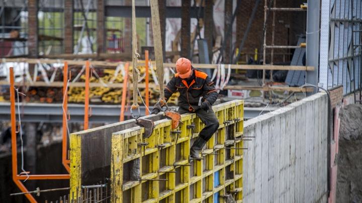 Стройка замерла: в Новосибирске стали строить меньше квартир