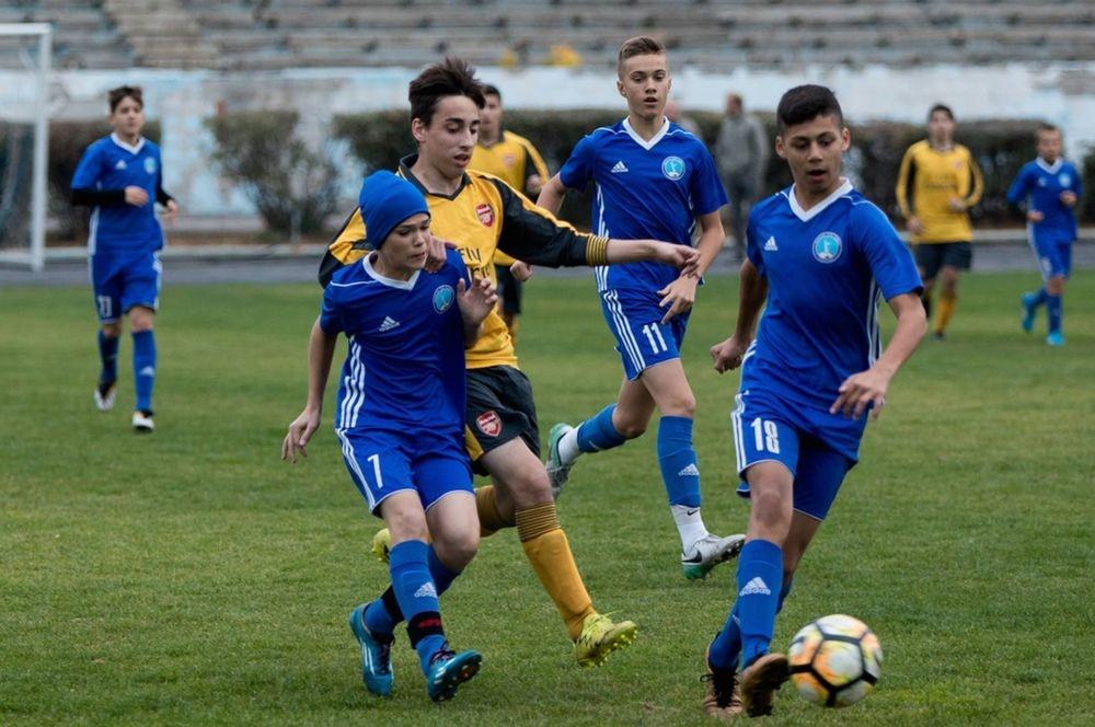 Путь в большой футбол: юные футболисты из российских детдомов прошли подготовку в школе Слуцкого