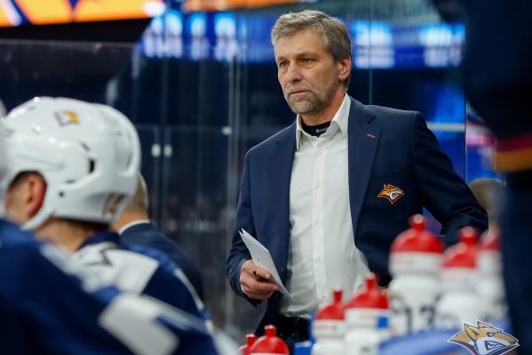 Йозеф Яндач тренировал «Металлург» в сезоне 2018/2019