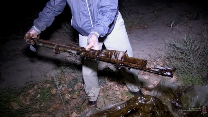 «Фанатею от раскопок»: волгоградец хранил чешский пулемёт, гранаты и противотанковую мину