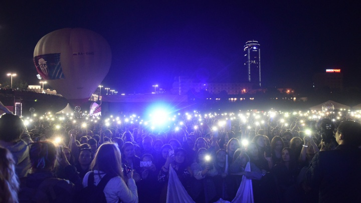 Толпы народа заполонили город: самые яркие кадры Ural Music Night