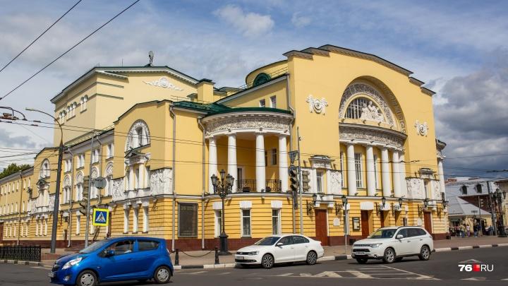 Владимир Машков и Сергей Безруков выберут лучшую концепцию для Волковского театра