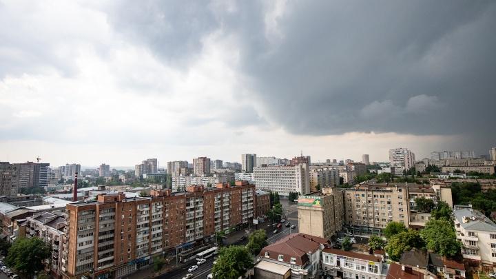 Не прячьте зонты: в Ростове продлили штормовое предупреждение