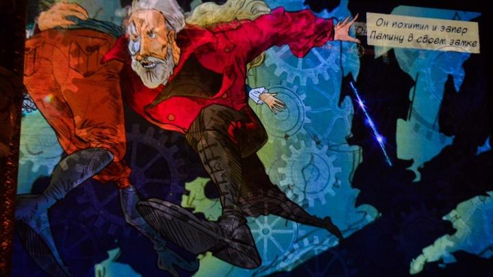 Мрачный фоторепортаж: в Оперном «Волшебную флейту» Моцарта превратили в мелодраму в стиле стимпанк