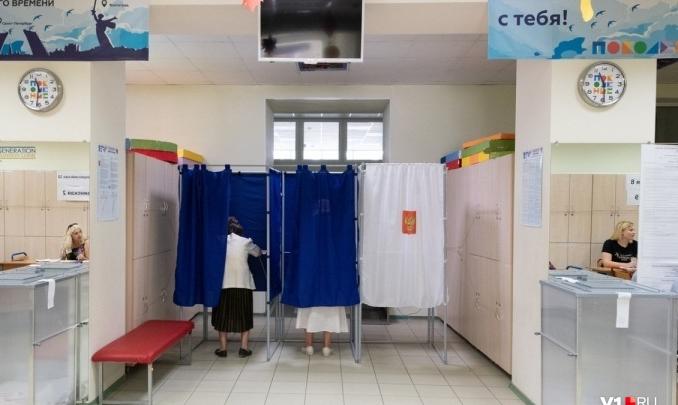 В Волгоградской области открылись избирательные участки