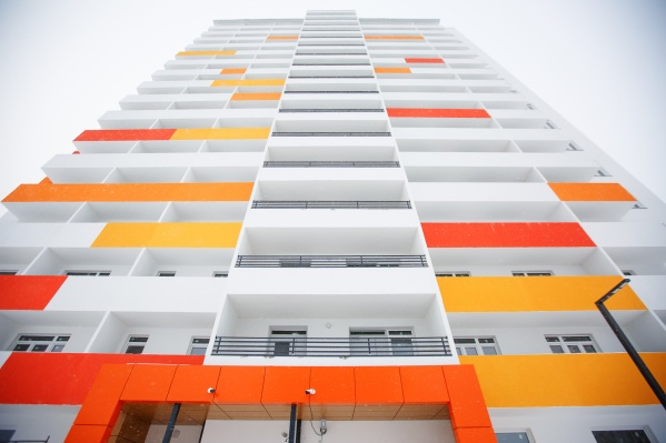 Недалеко от набережной Туры сдался первый дом ультрасовременного жилого комплекса