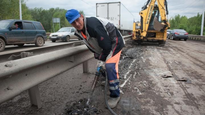 Стало известно, когда закончат ремонт на дорогах Уфы