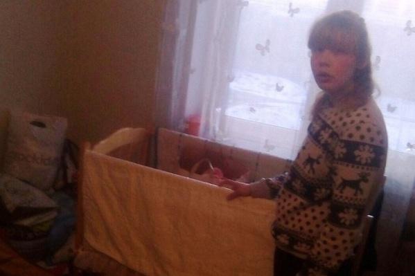 Молодая мама приготовила дома всё необходимое для малыша