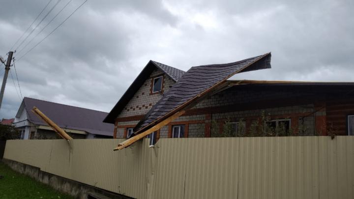 Ураган в Башкирии оставил без электричества 37 тысяч человек