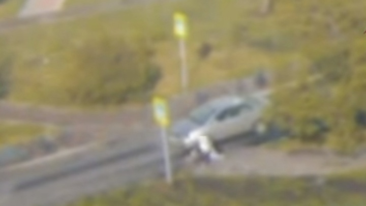 50-летняя женщина на Марковского сбила двух пешеходов