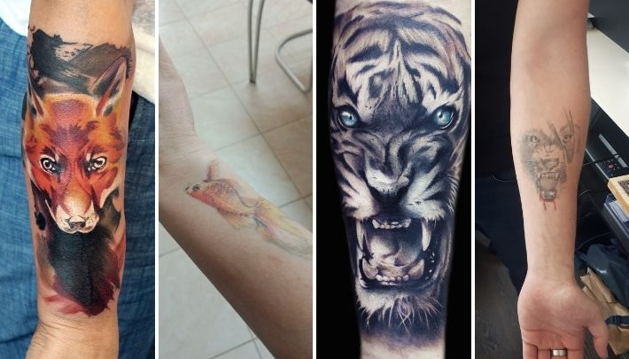 8 неудачных татуировок, о которых тюменцам хотелось бы забыть (фотографии до и после)