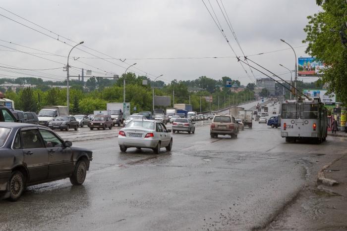 В эту субботу власти перекроют движение от Маркса до Сибиряков-Гвардейцев.