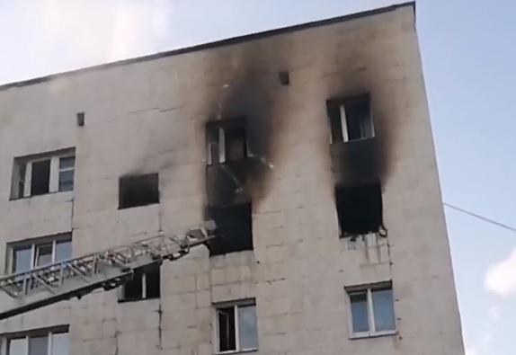 Взрыв произошел на четвертом этаже
