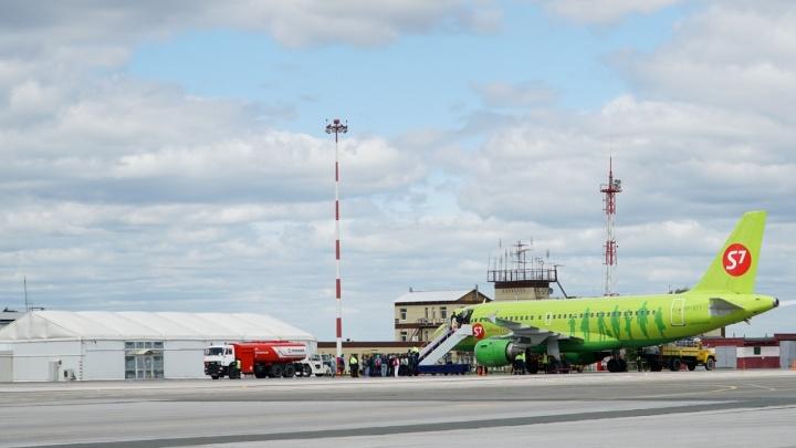 Из-за плохого самочувствия пассажира в пермском аэропорту экстренно сел самолет из Тюмени