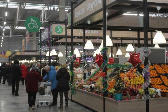 На «Ярмарке вкусов» представлены свежие и вкусные продукты по низким ценам