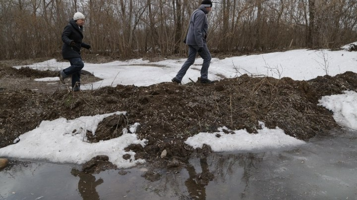 В Уфе талые воды затопили 150 дворов