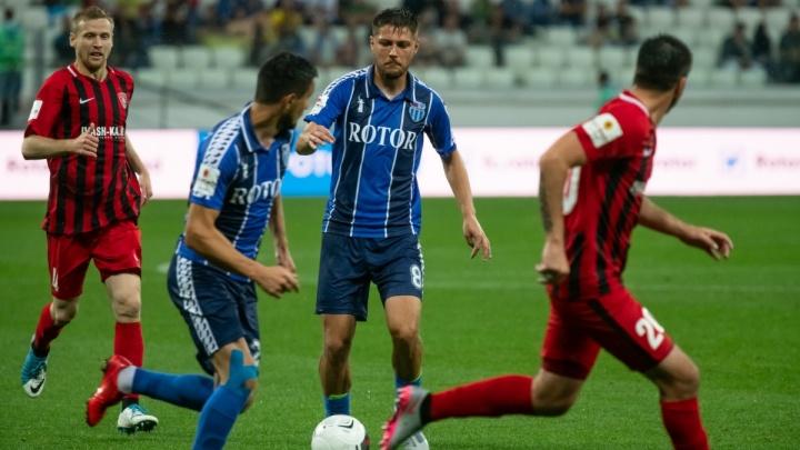 Трое футболистов волгоградского «Ротора» вошли в сборную тура ФНЛ